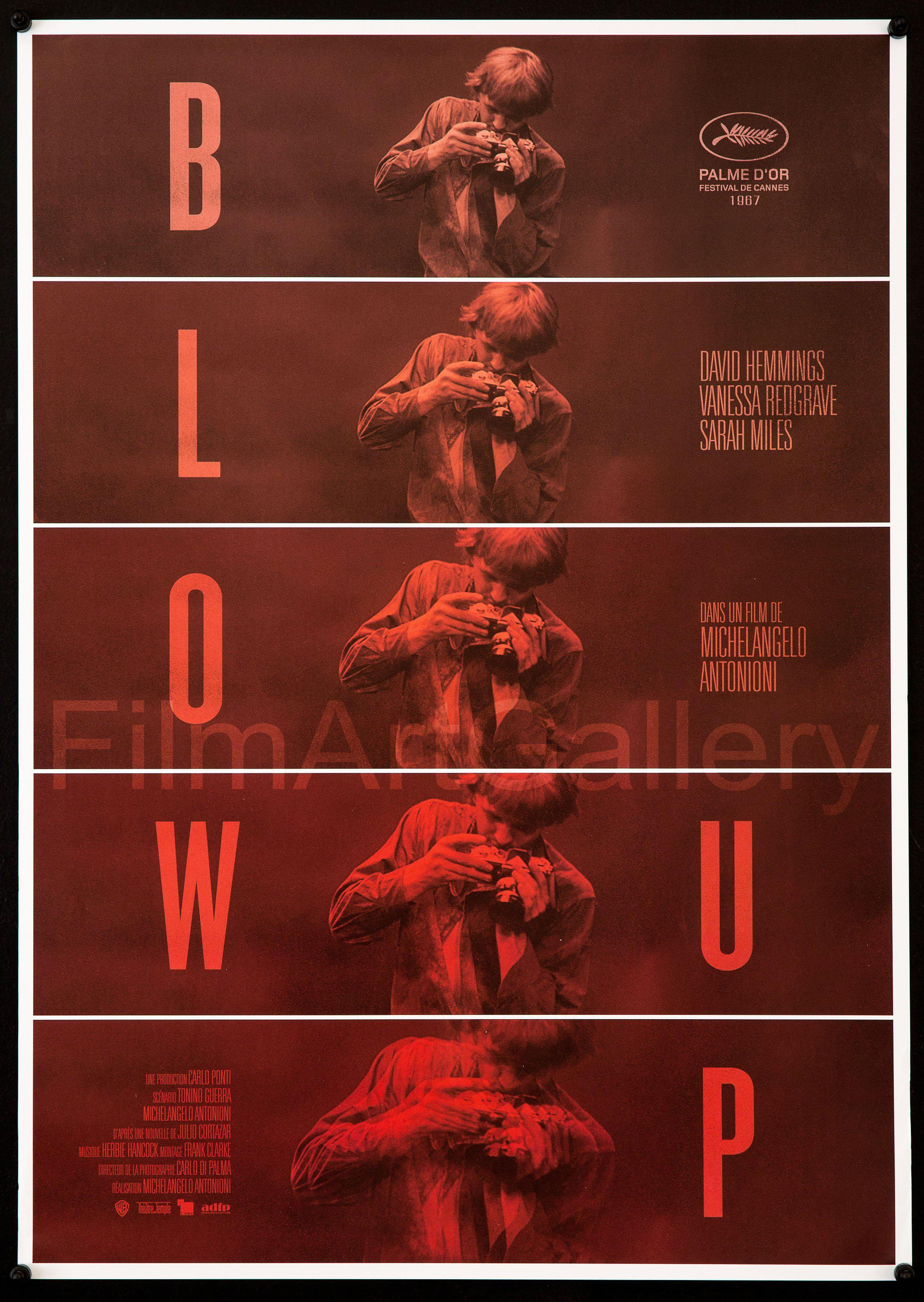 Blow Up French Mini (16x23) Original Vintage Movie Poster