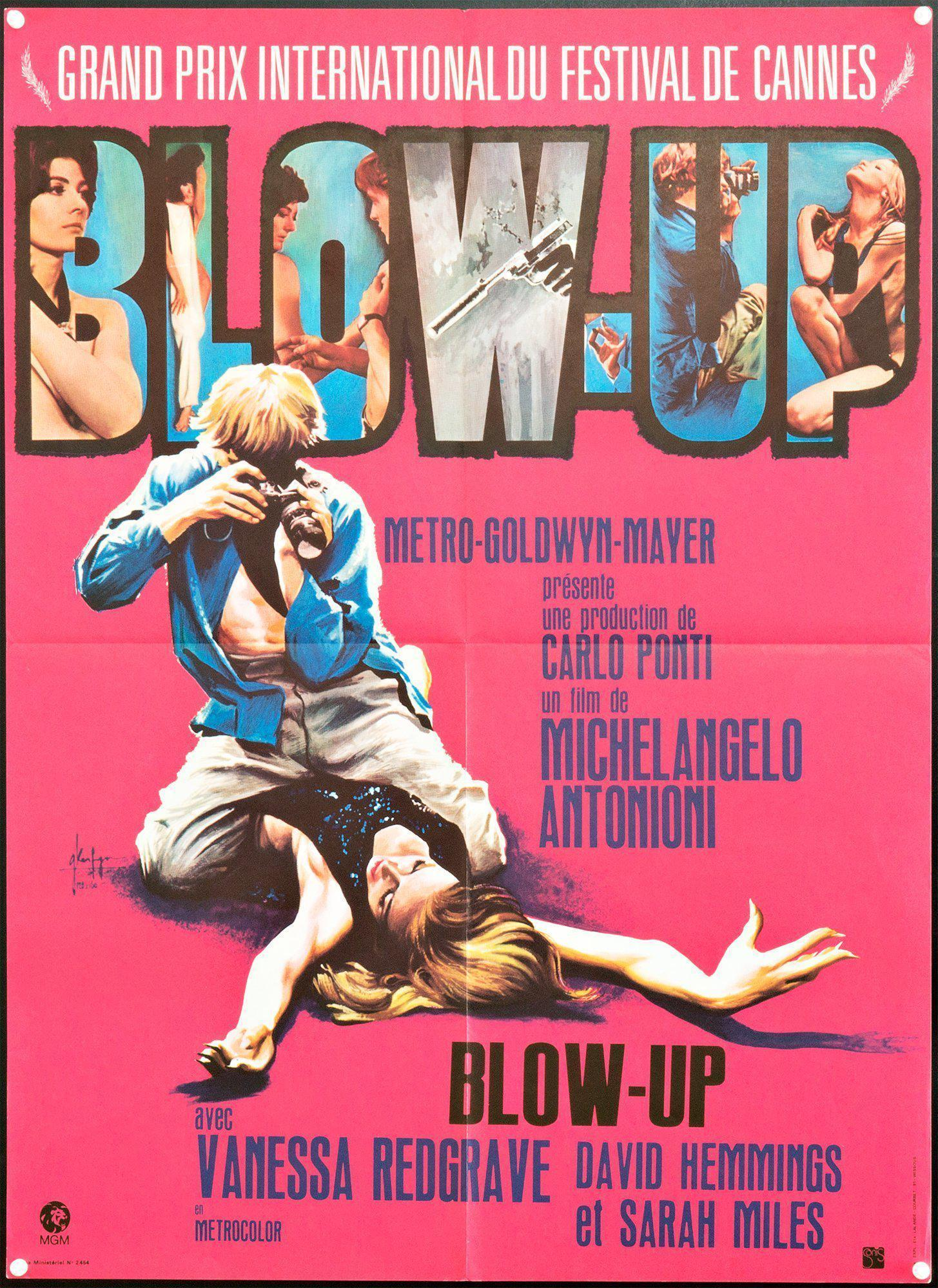 Blow Up French small (23x32) Original Vintage Movie Poster