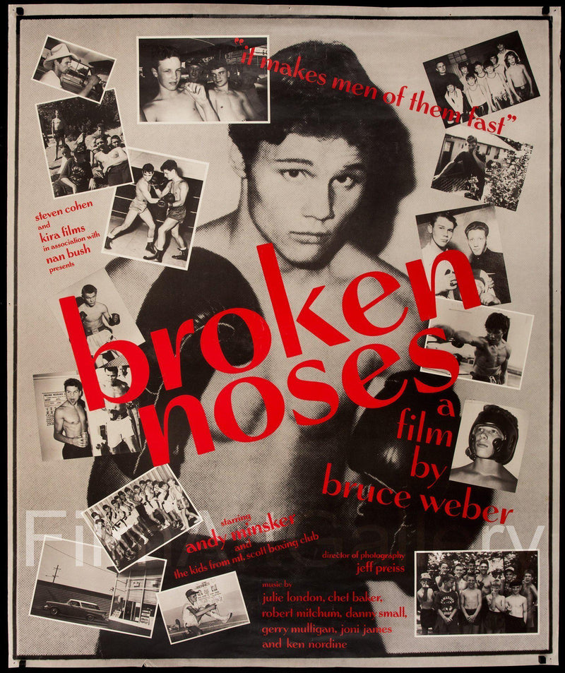 Broken Noses 40x50 Original Vintage Movie Poster