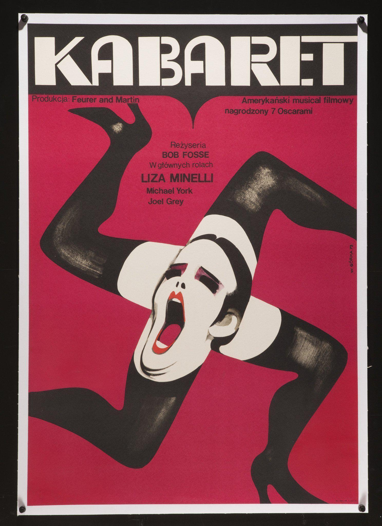 Cabaret Polish A1 (23x33) Original Vintage Movie Poster
