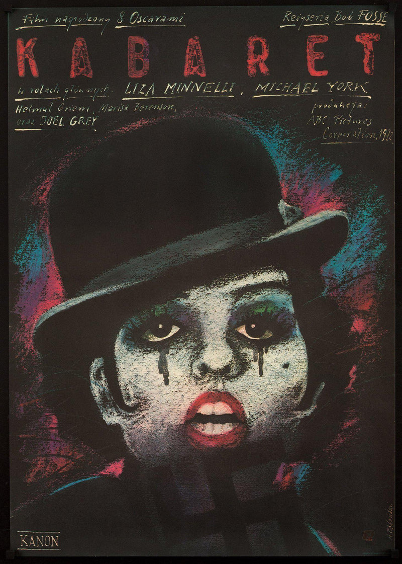 Cabaret Polish B1 (26x38) Original Vintage Movie Poster
