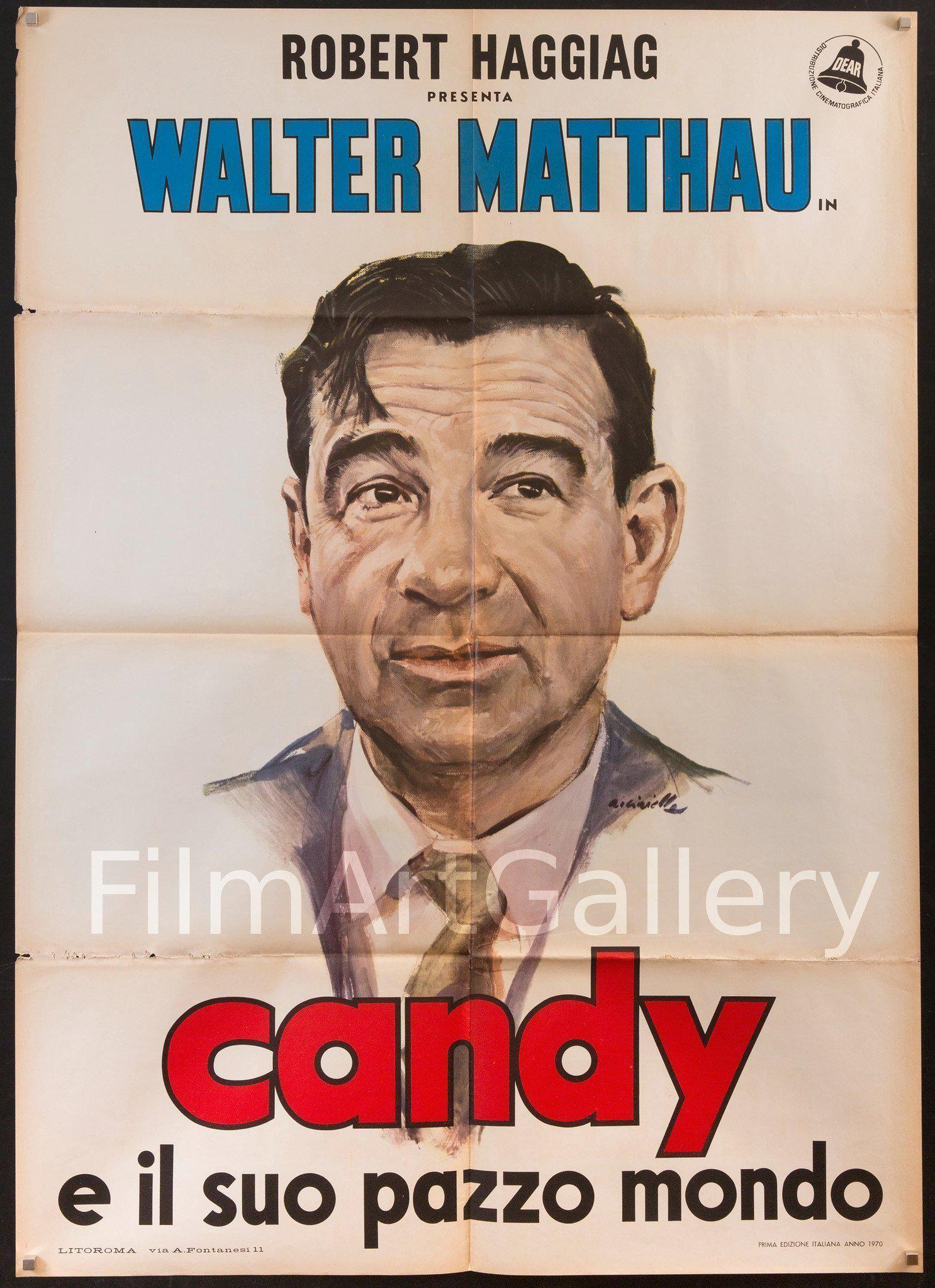 Candy Italian 2 Foglio (39x55) Original Vintage Movie Poster