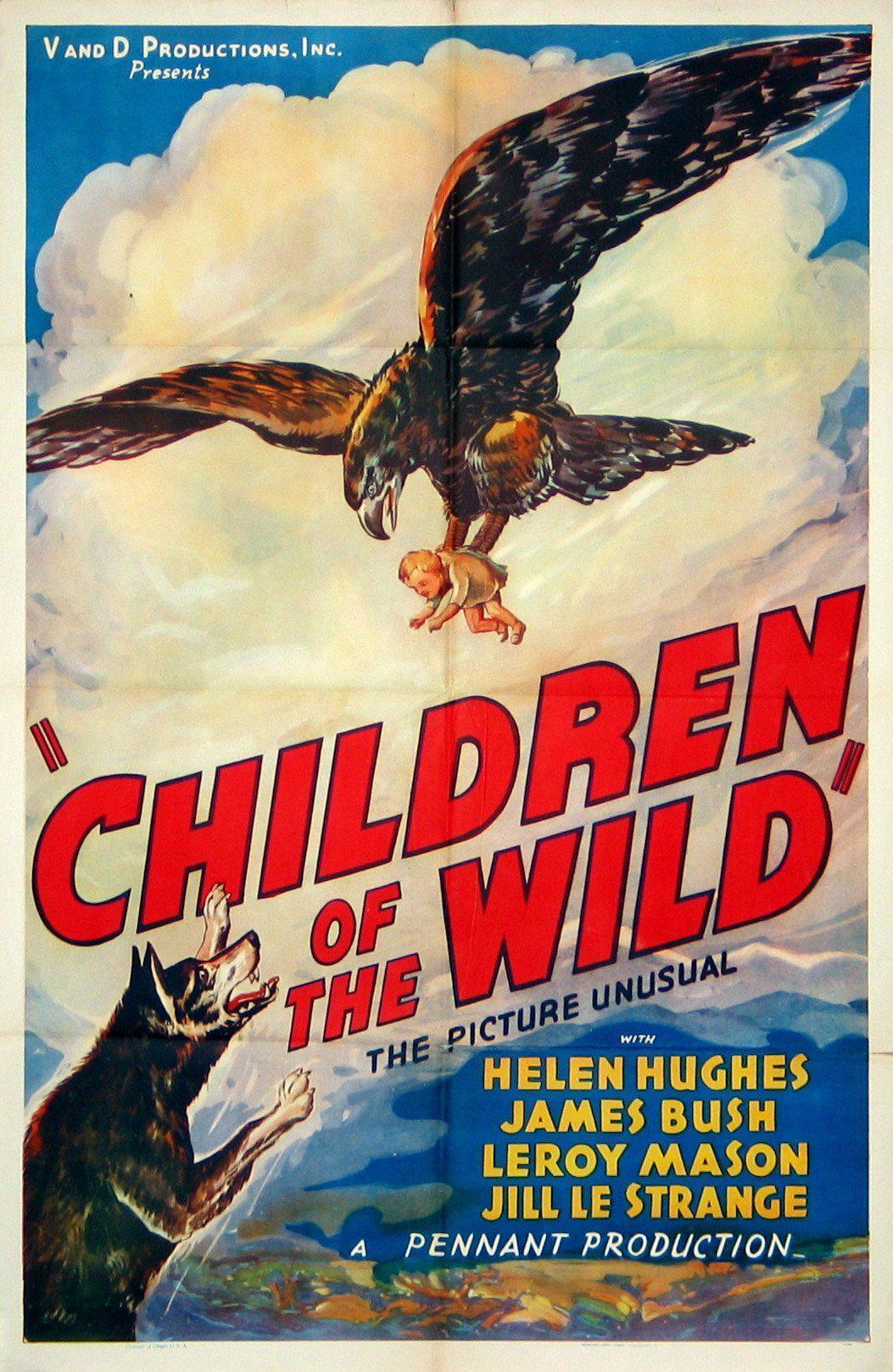 Children of the Wild 1 Sheet (27x41) Original Vintage Movie Poster