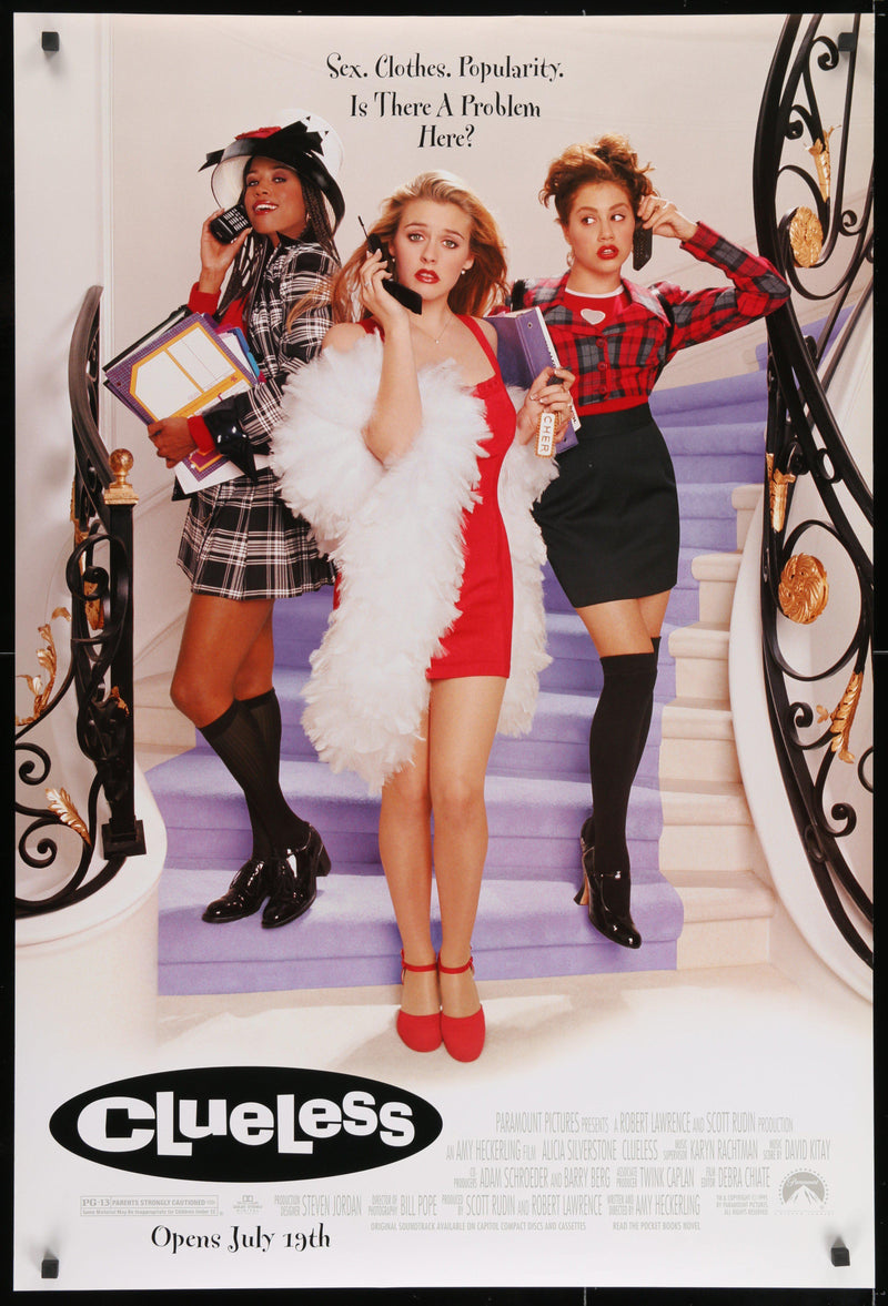 Clueless 1 Sheet (27x41) Original Vintage Movie Poster