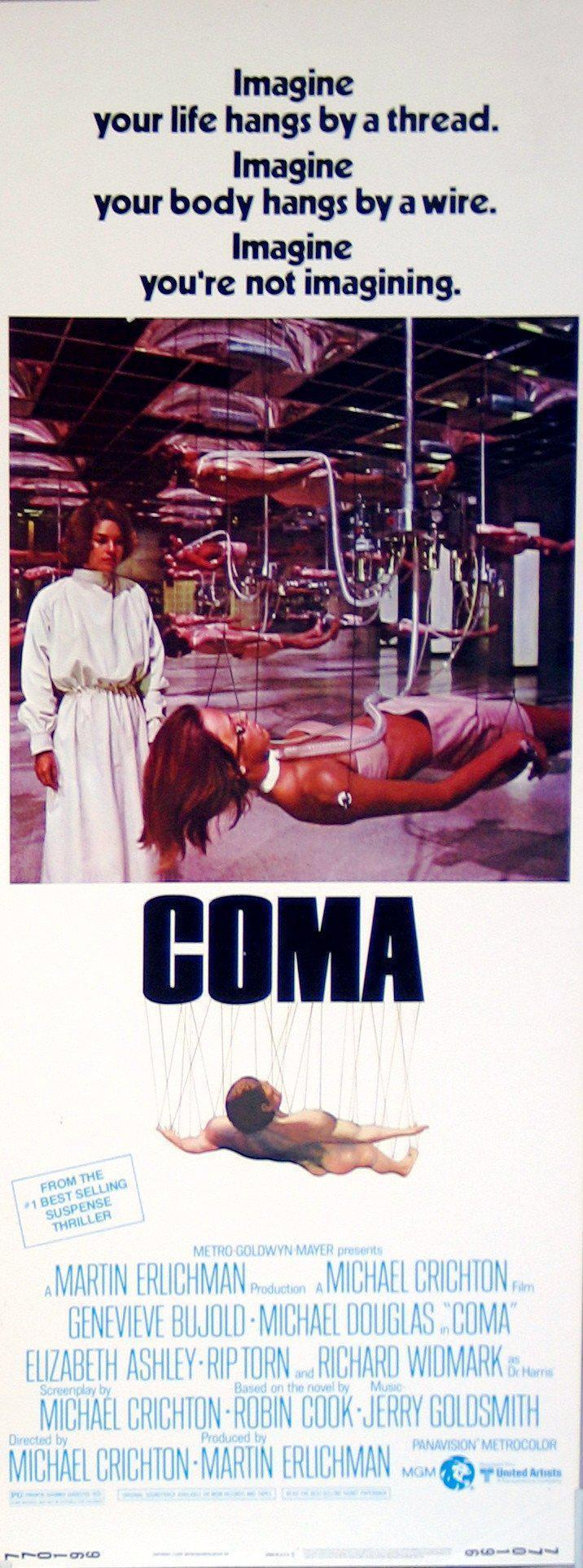 Coma Insert (14x36) Original Vintage Movie Poster