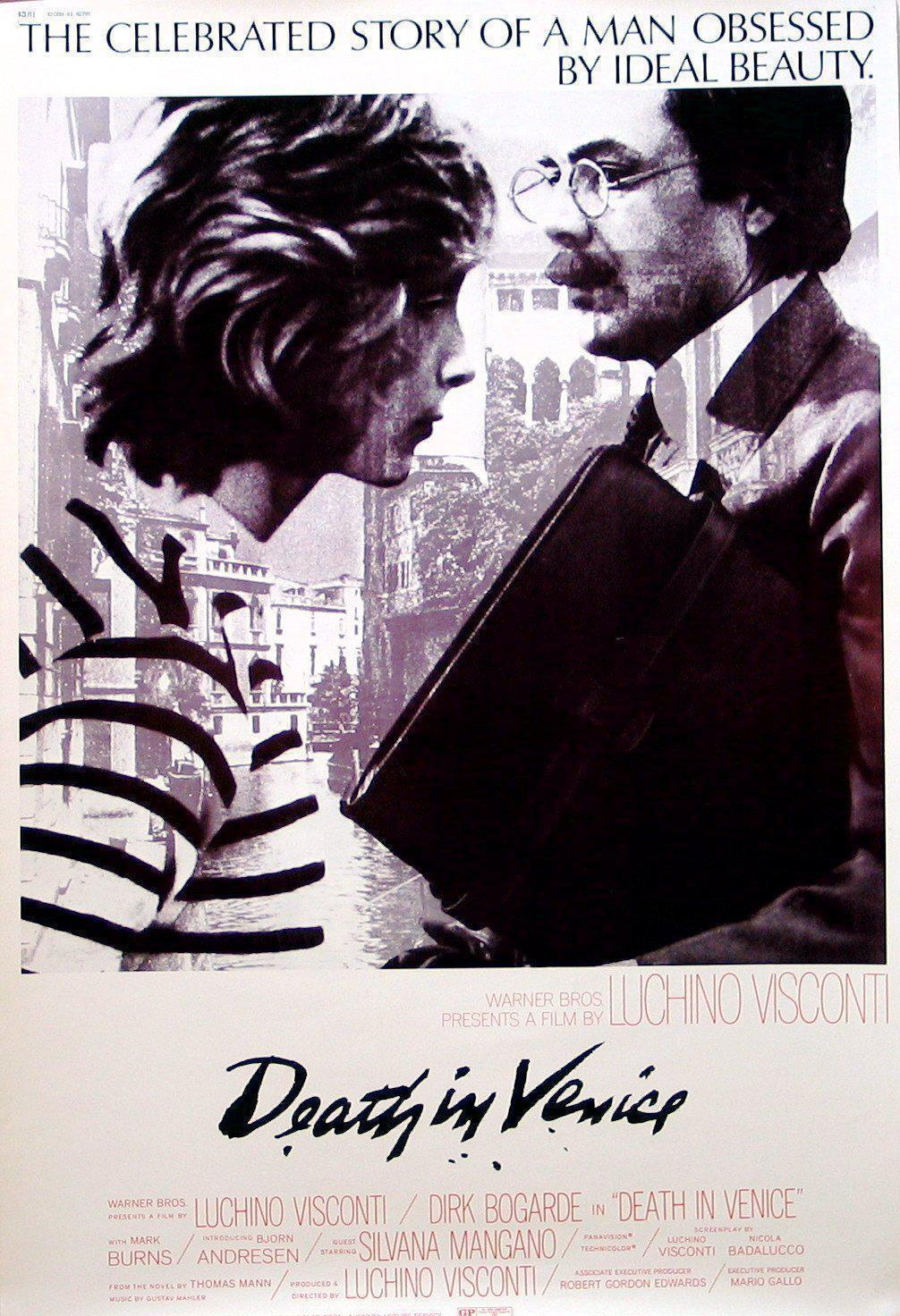 Death in Venice 40x60 Original Vintage Movie Poster