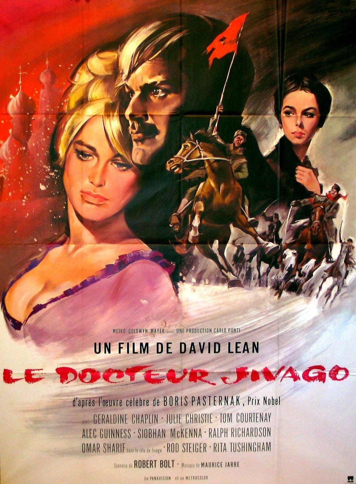 Dr. Zhivago French 1 panel (47x63) Original Vintage Movie Poster