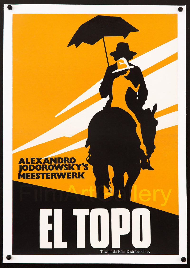 El Topo 14x20 Original Vintage Movie Poster