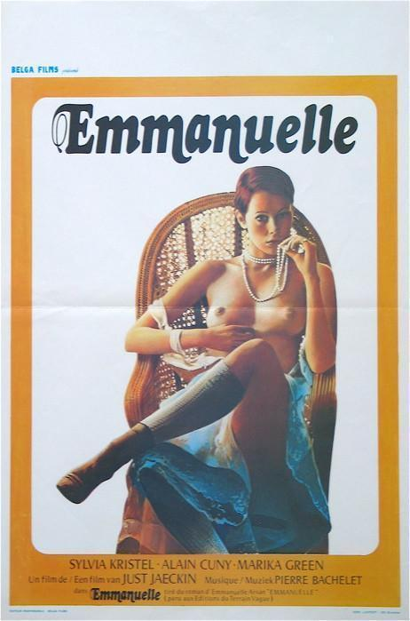 Emmanuelle Belgian (14x22) Original Vintage Movie Poster