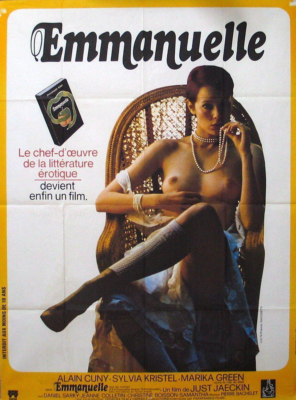 Emmanuelle French 1 panel (47x63) Original Vintage Movie Poster