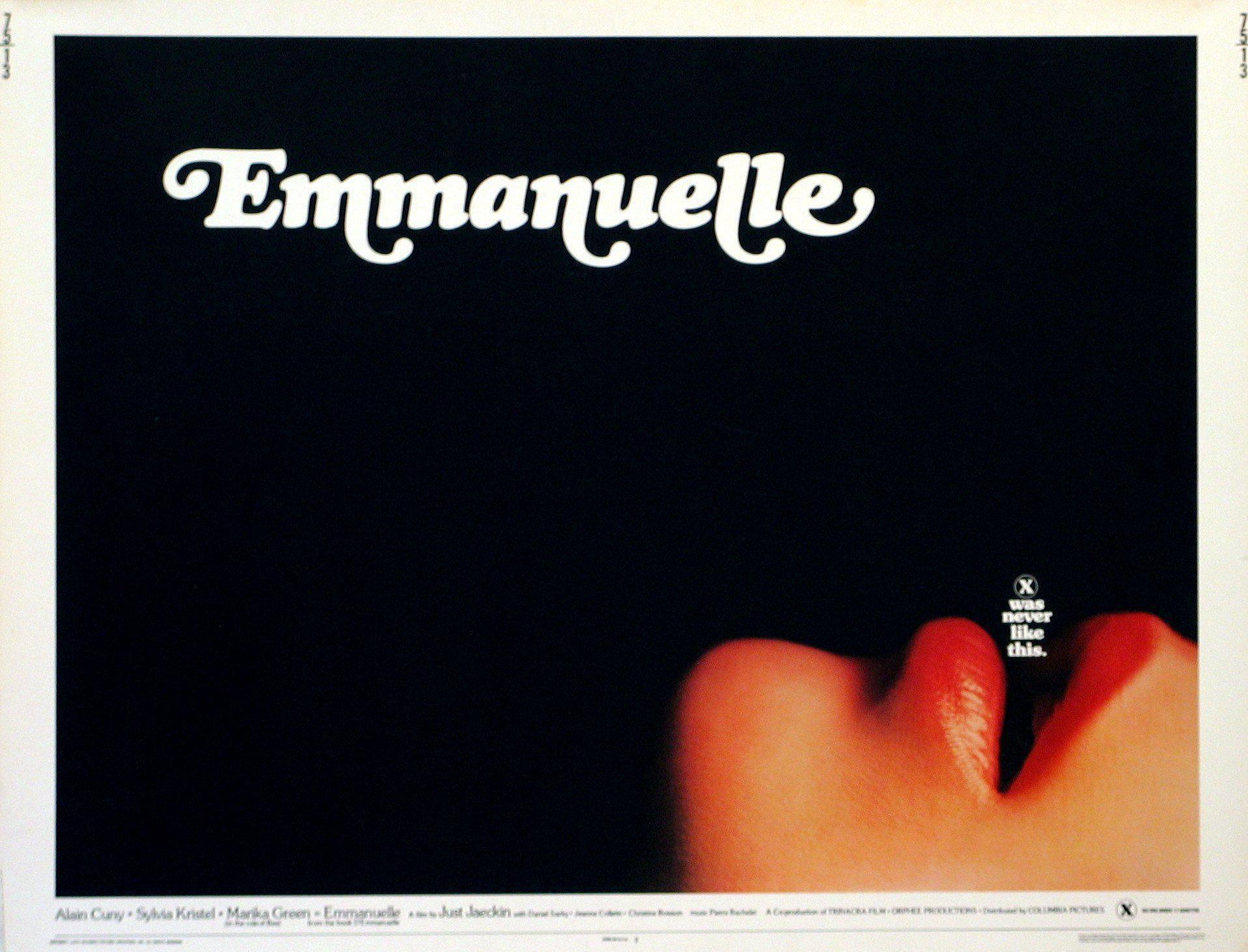 Emmanuelle Half sheet (22x28) Original Vintage Movie Poster