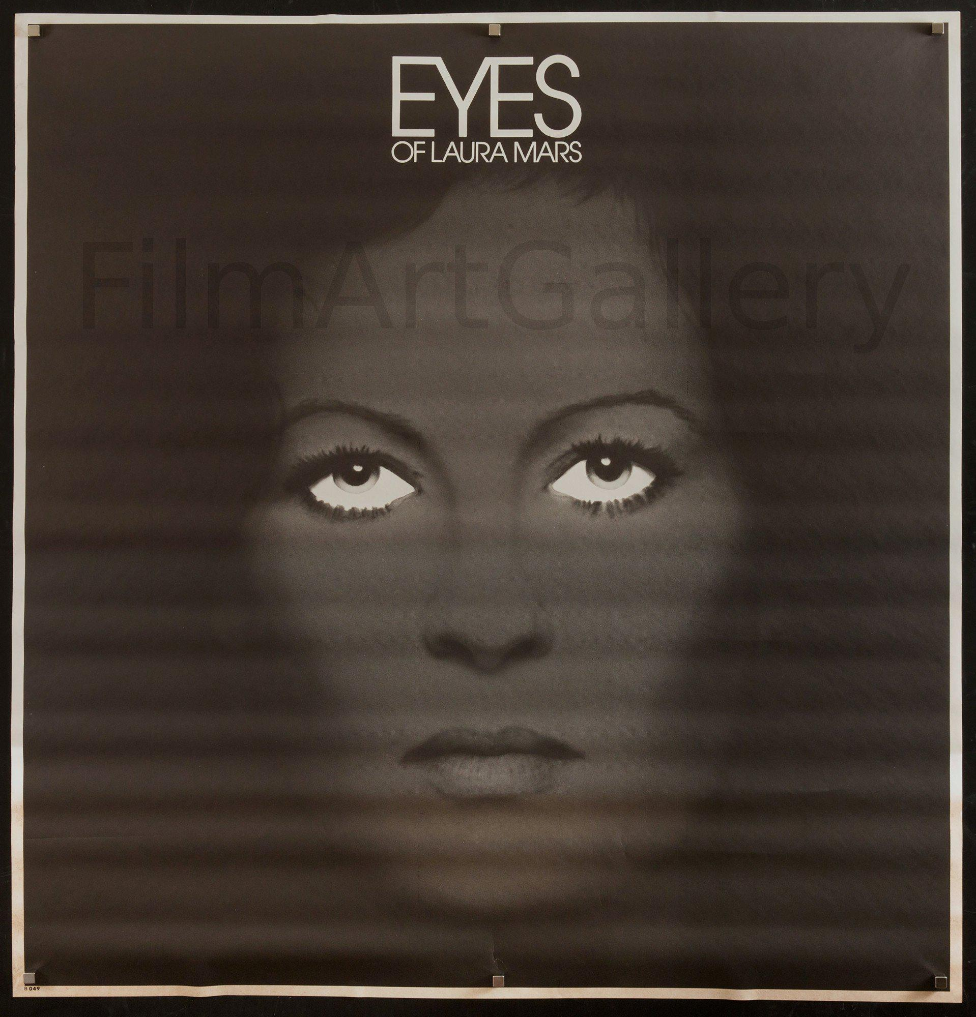 Eyes Of Laura Mars 42x42 Original Vintage Movie Poster