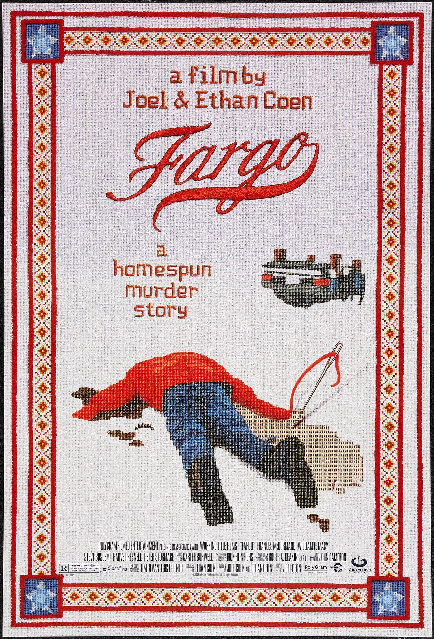 Fargo 1 Sheet (27x41) Original Vintage Movie Poster