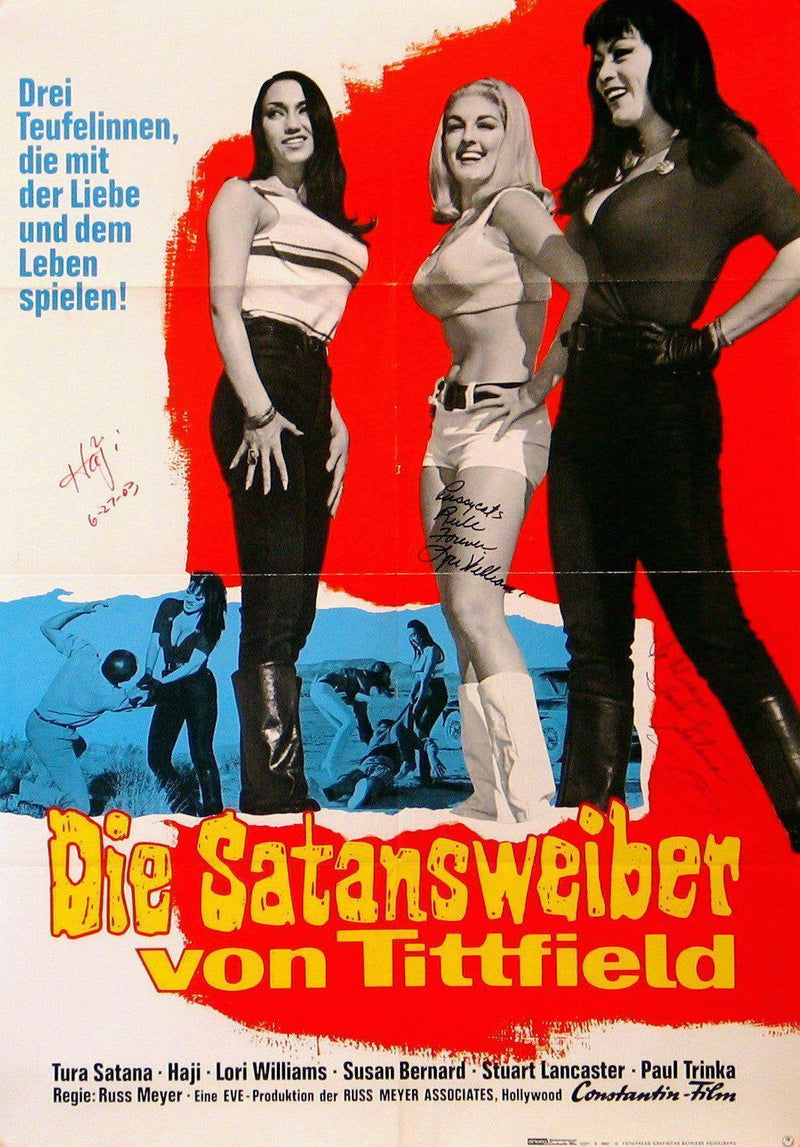 Faster Pussycat! Kill! Kill! German A1 (23x33) Original Vintage Movie Poster