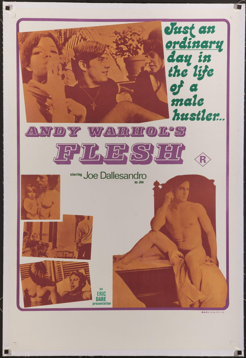 Flesh 1 Sheet (27x41) Original Vintage Movie Poster