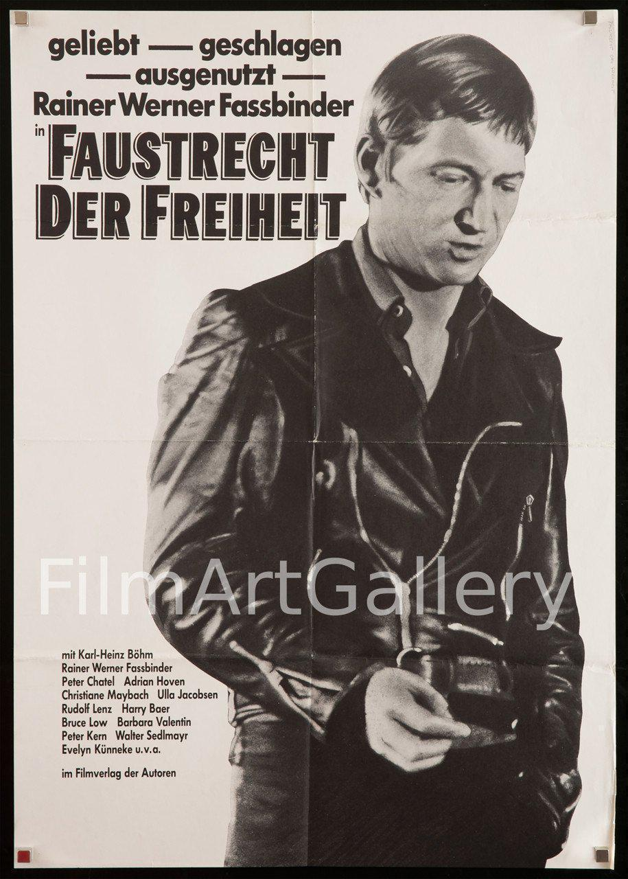 Fox and His Friends German A1 (23x33) Original Vintage Movie Poster
