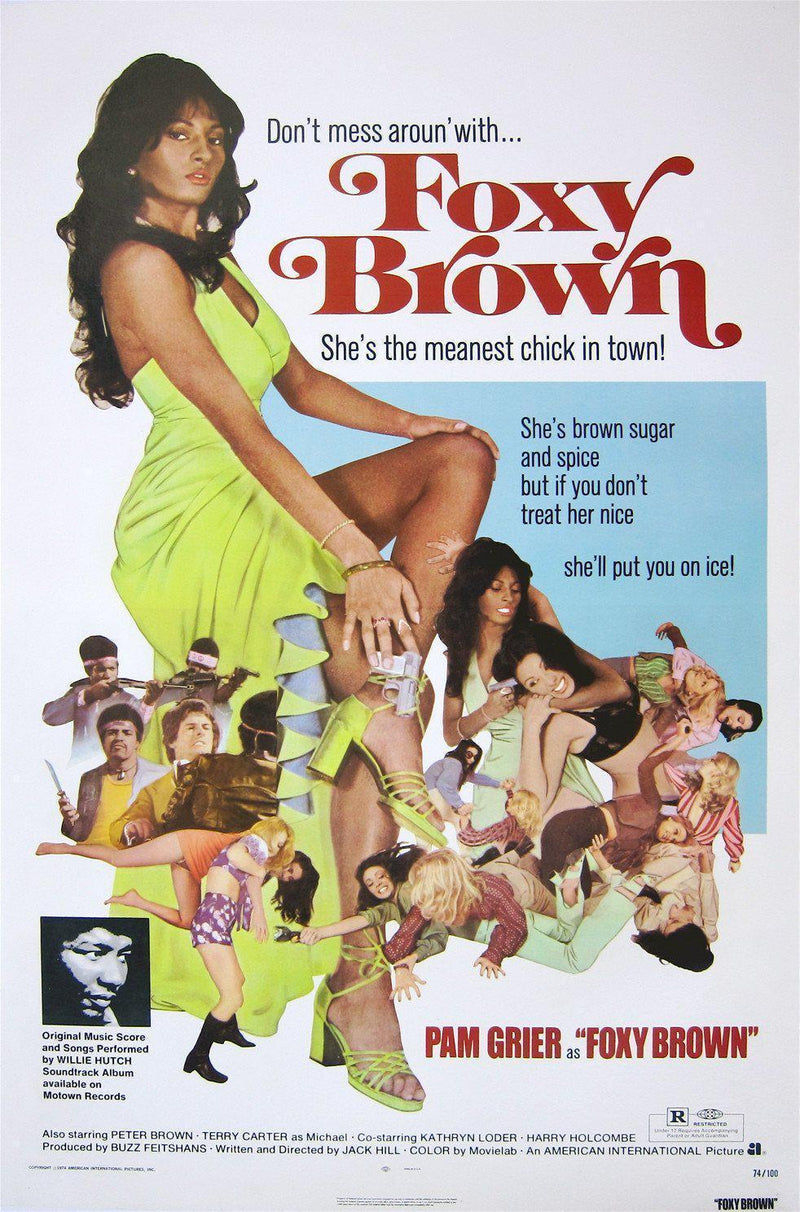 Foxy Brown 1 Sheet (27x41) Original Vintage Movie Poster