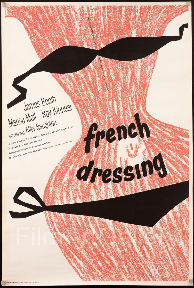 French Dressing 1 Sheet (27x41) Original Vintage Movie Poster
