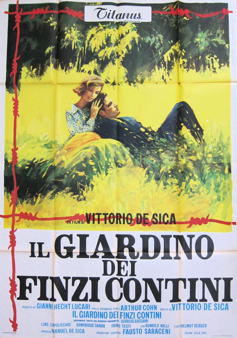 Garden of the Finzi-Continis Italian 4 foglio (55x78) Original Vintage Movie Poster