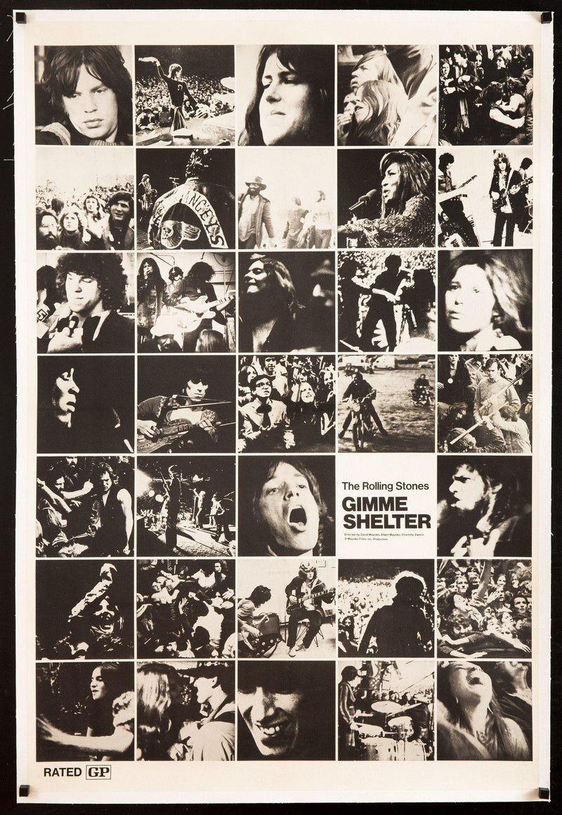Gimme Shelter Subway 1 Sheet (29x45) Original Vintage Movie Poster