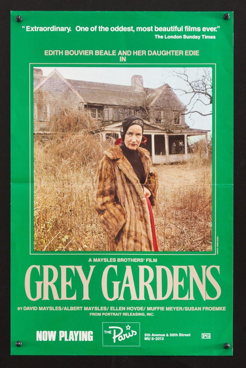 Grey Gardens Window Card (14x22) Original Vintage Movie Poster