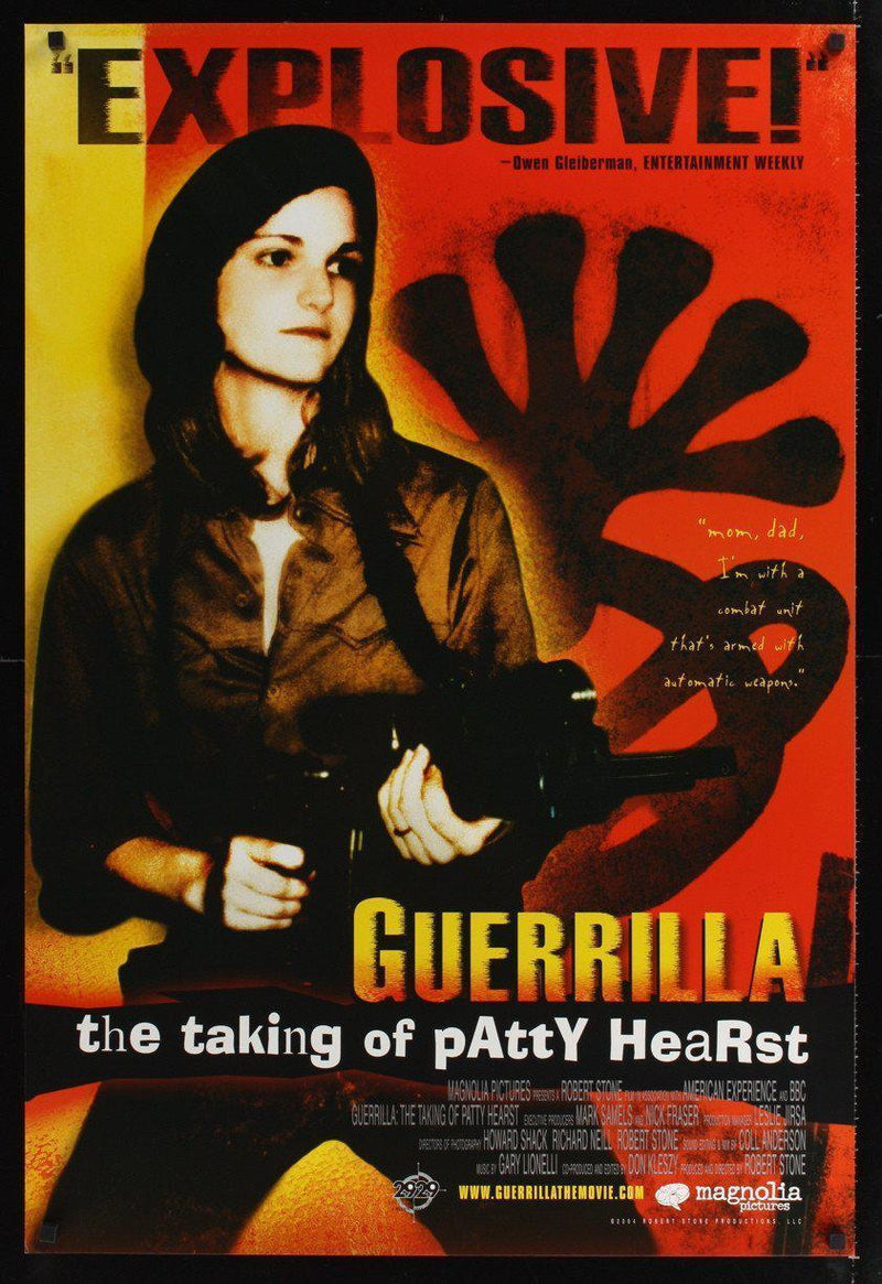 Guerilla The Taking of Patty Hearst 1 Sheet (27x41) Original Vintage Movie Poster