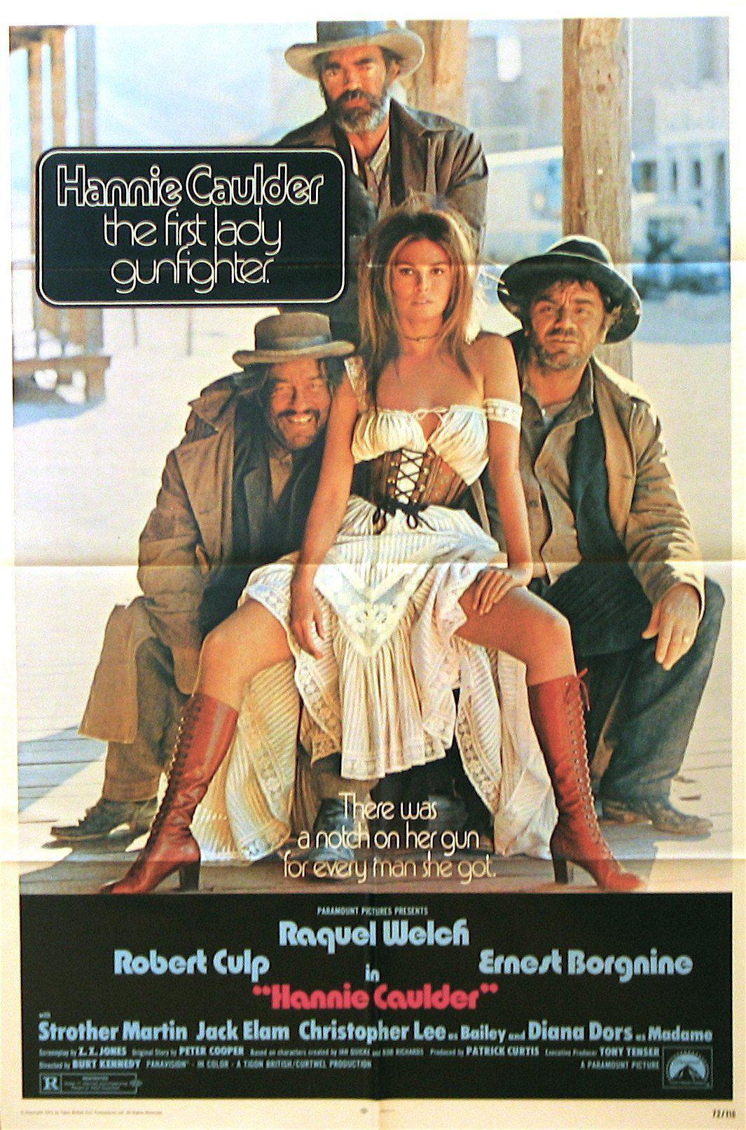 Hannie Caulder 1 Sheet (27x41) Original Vintage Movie Poster