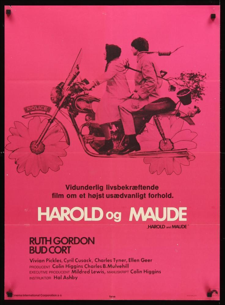 Harold and Maude 24x33 Original Vintage Movie Poster