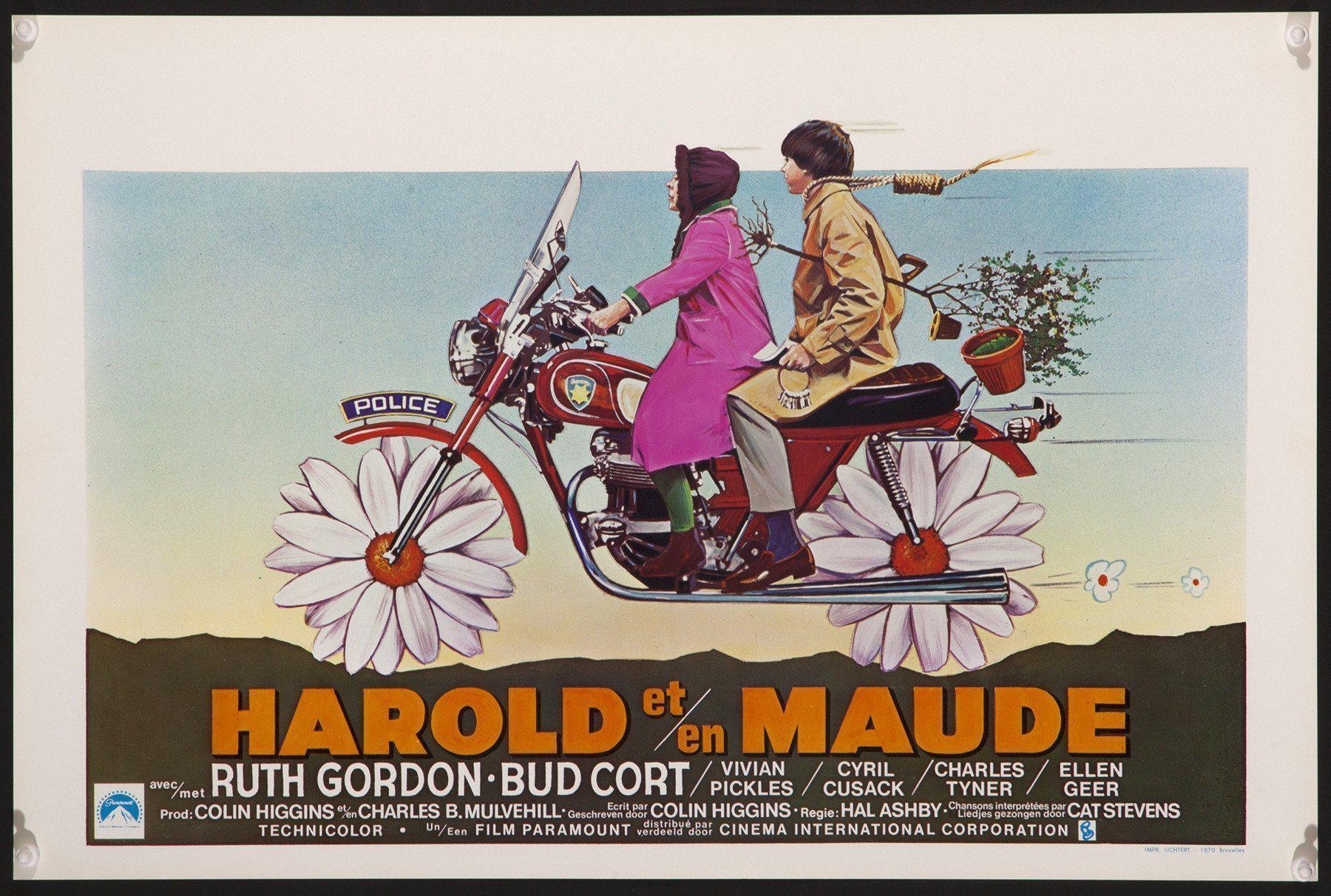 Harold and Maude Belgian (14x22) Original Vintage Movie Poster