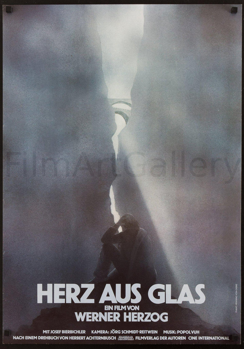 Heart of Glass (Herz Aus Glas) German A1 (23x33) Original Vintage Movie Poster