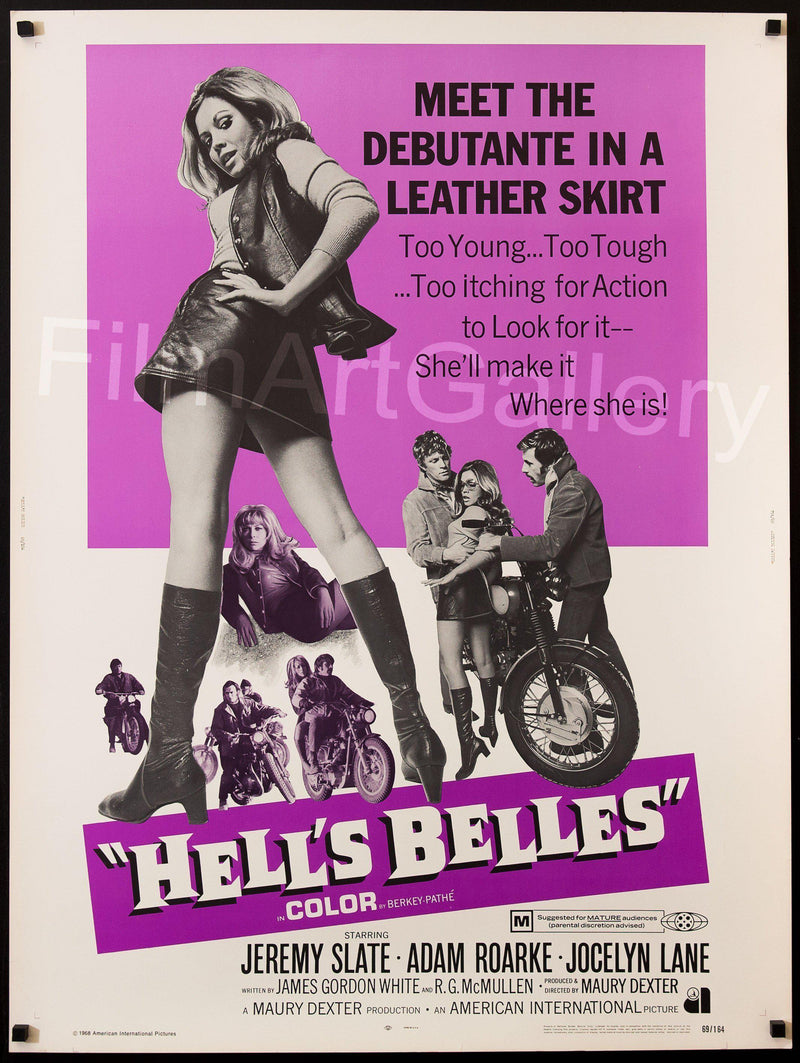 Hell's Belles U.S. 30x40 Original Vintage Movie Poster