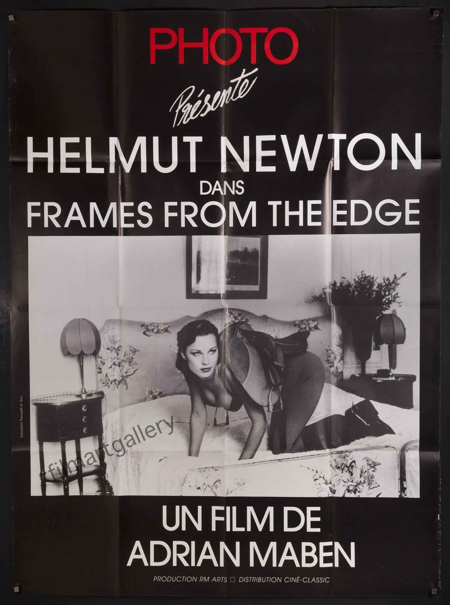 Helmut Newton Frames From The Edge Vintage Movie Poster | French 1 ...