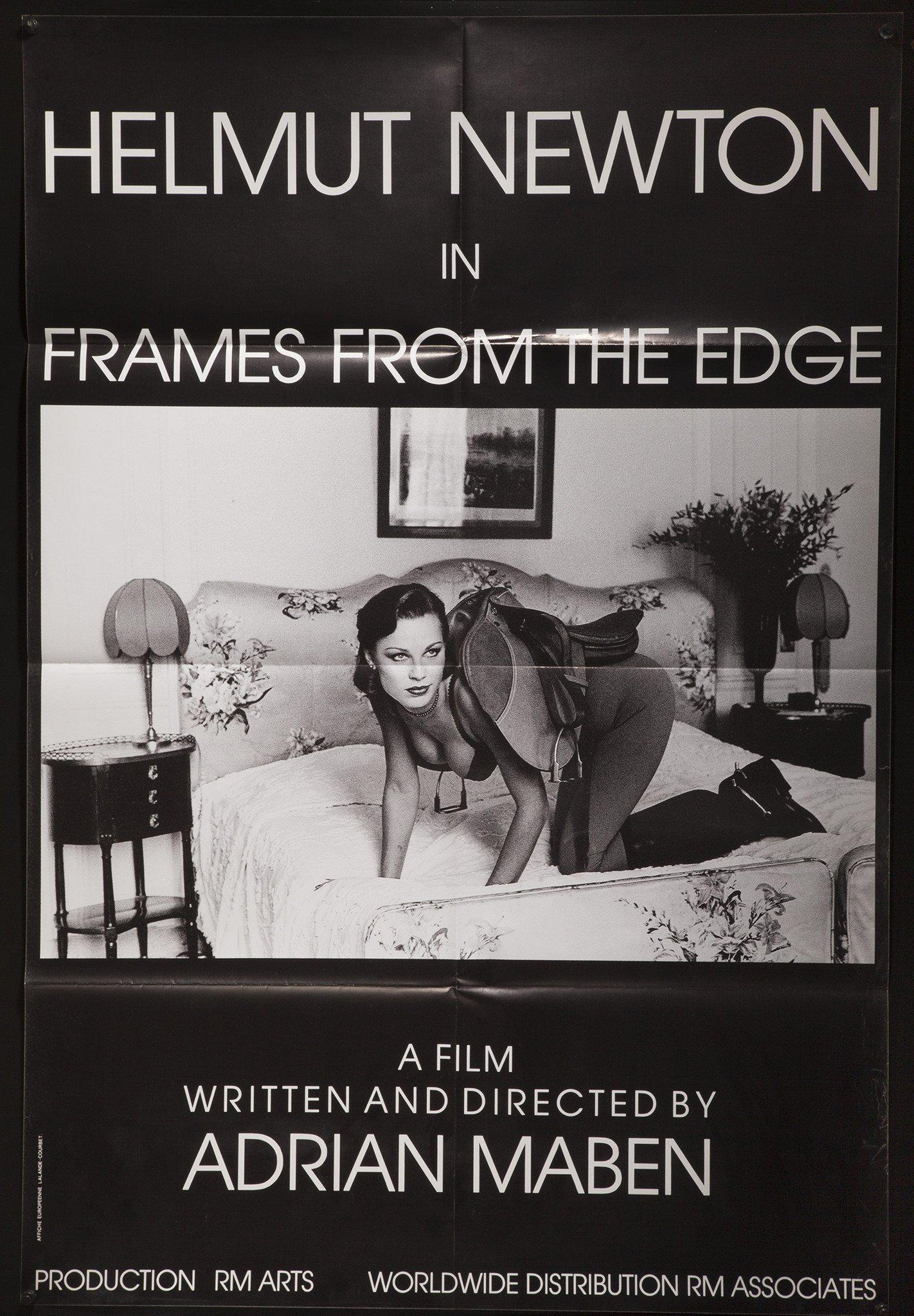 Helmut Newton Frames From The Edge French medium (31x47) Original Vintage Movie Poster