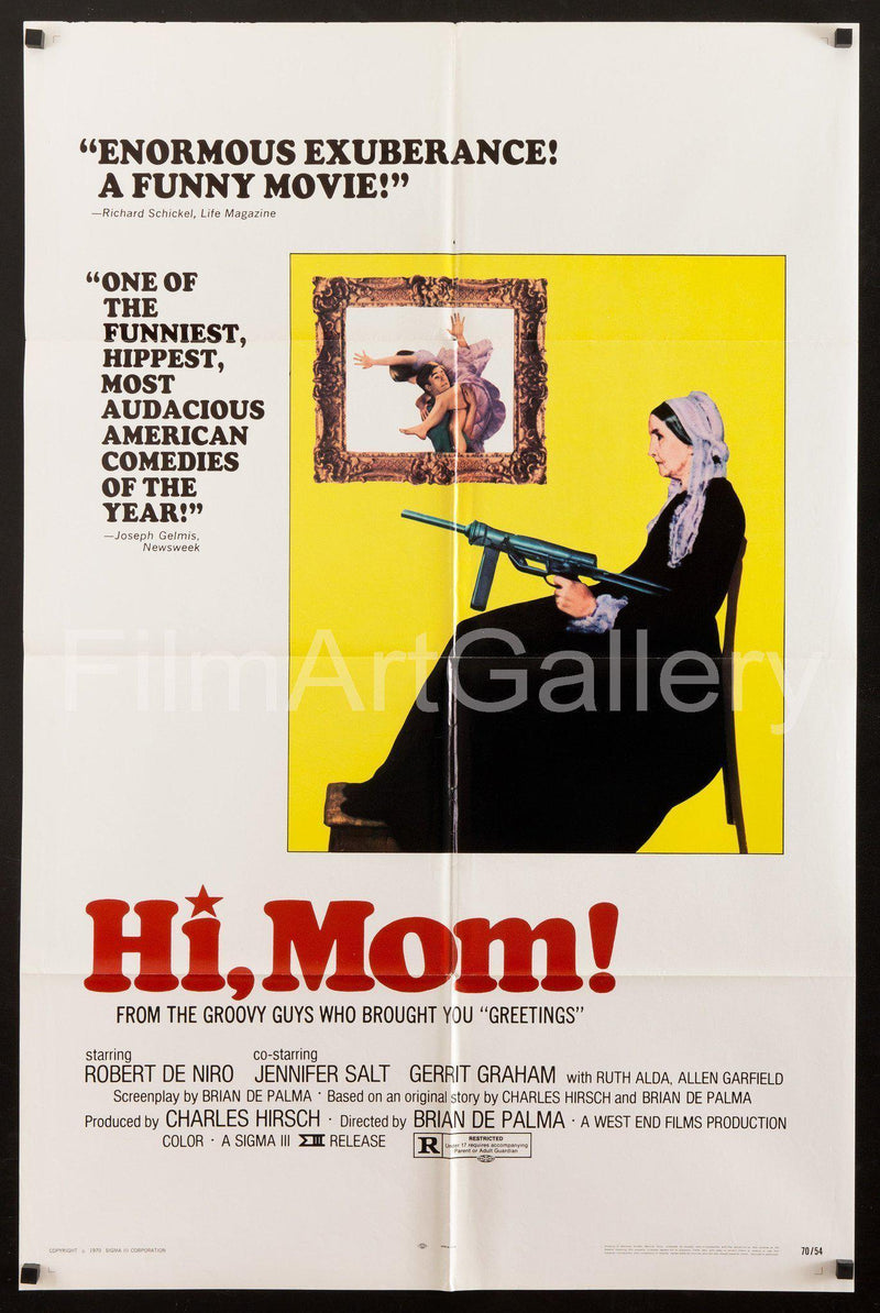 Hi Mom! 1 Sheet (27x41) Original Vintage Movie Poster