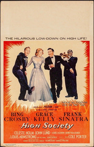 High Society Window Card (14x22) Original Vintage Movie Poster