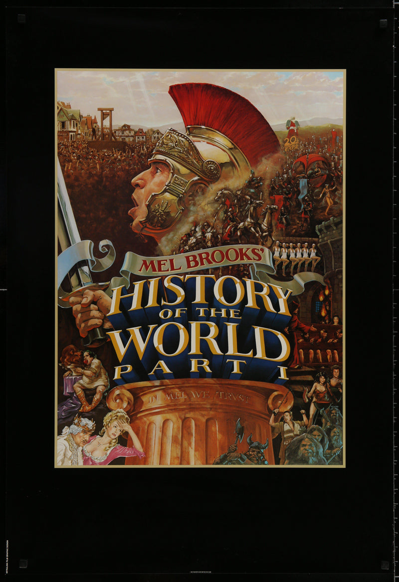History of the World Part 1 1 Sheet (27x41) Original Vintage Movie Poster