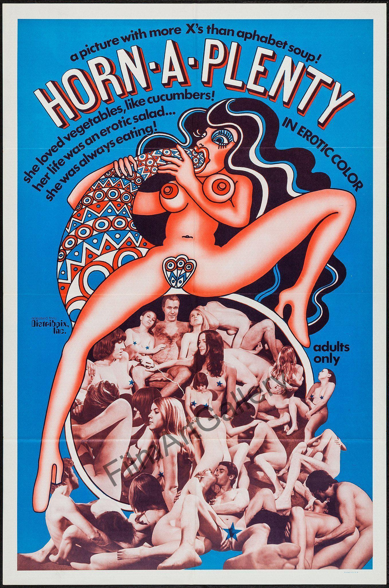 Horn A Plenty 1 Sheet (27x41) Original Vintage Movie Poster