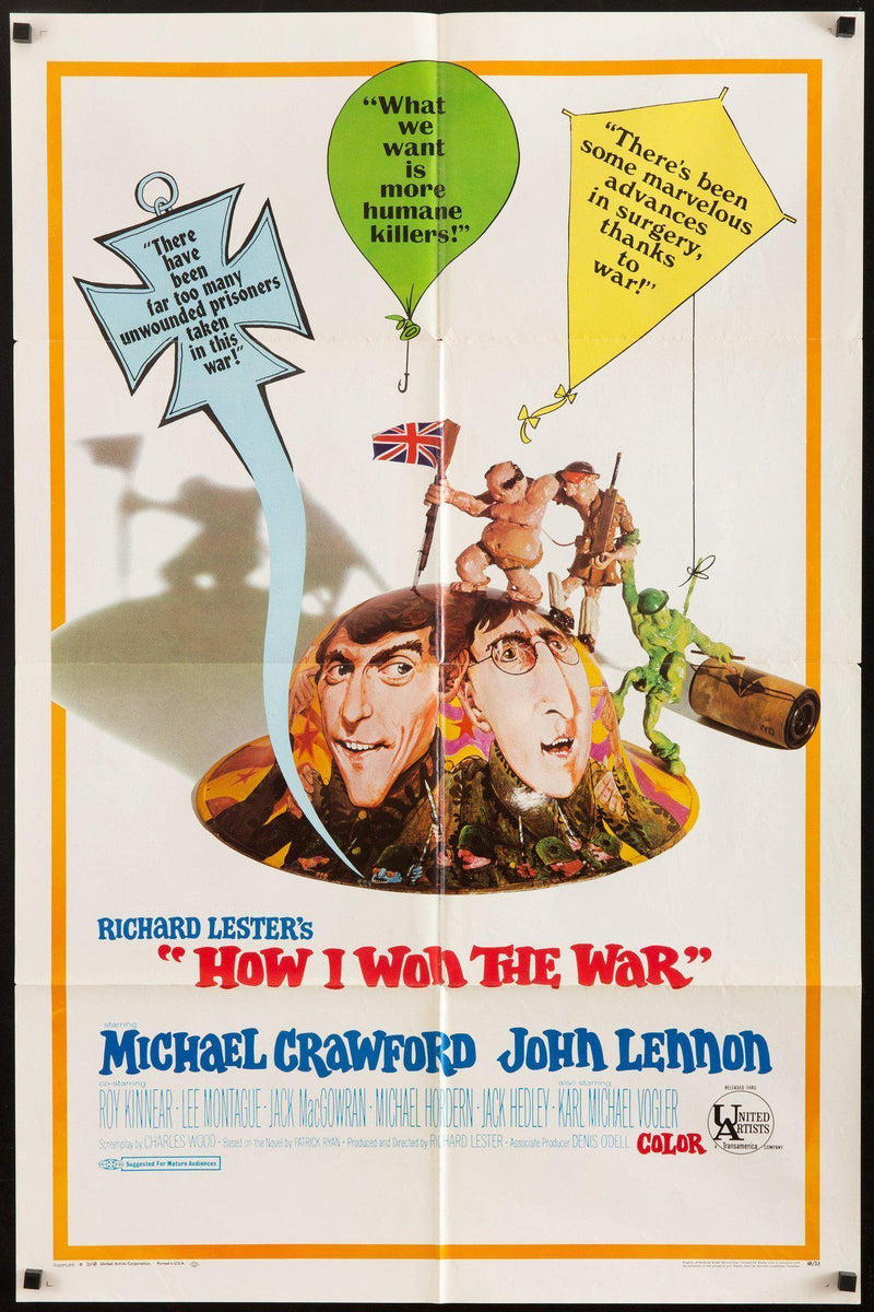 How I Won the War 1 Sheet (27x41) Original Vintage Movie Poster