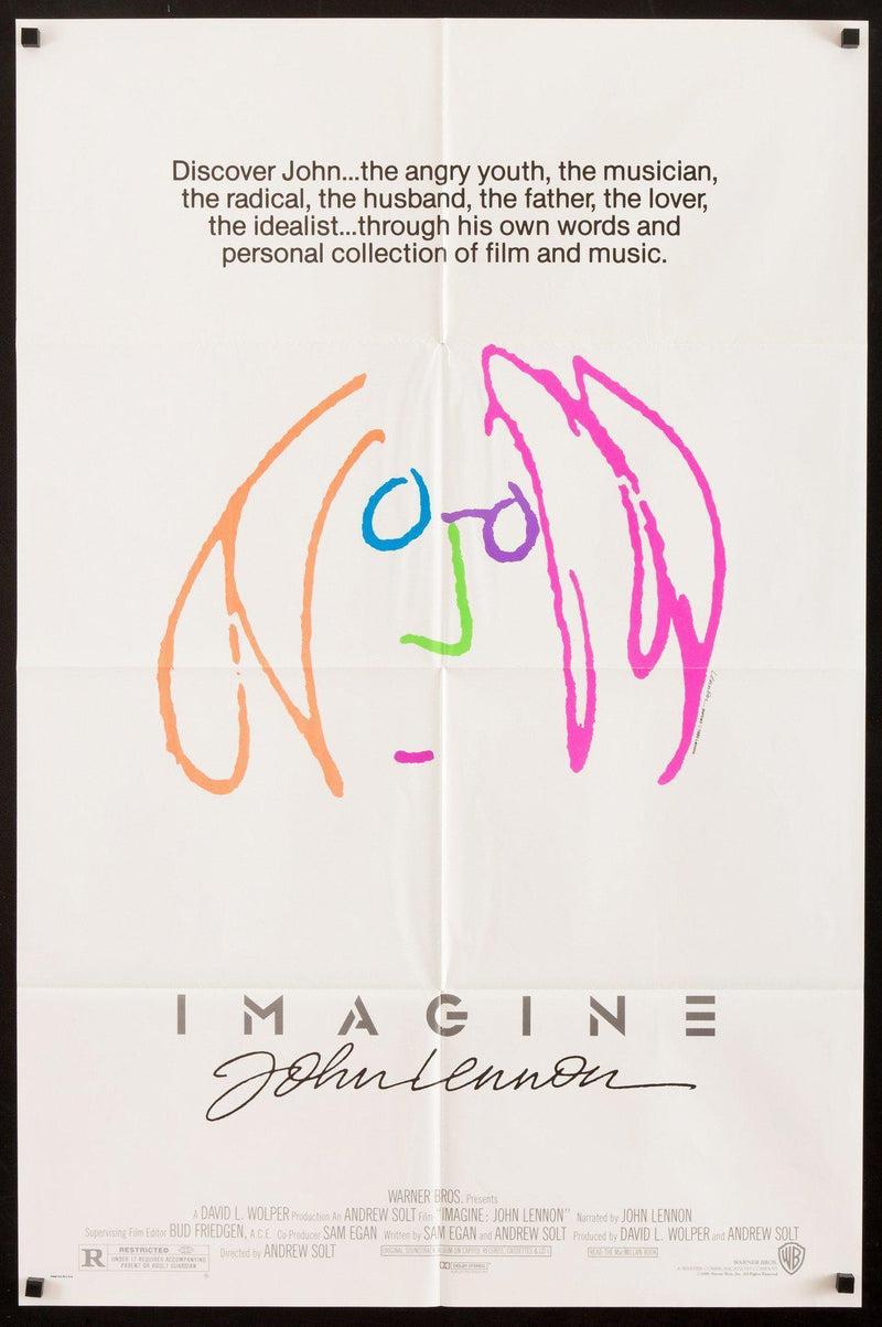 Imagine 1 Sheet (27x41) Original Vintage Movie Poster