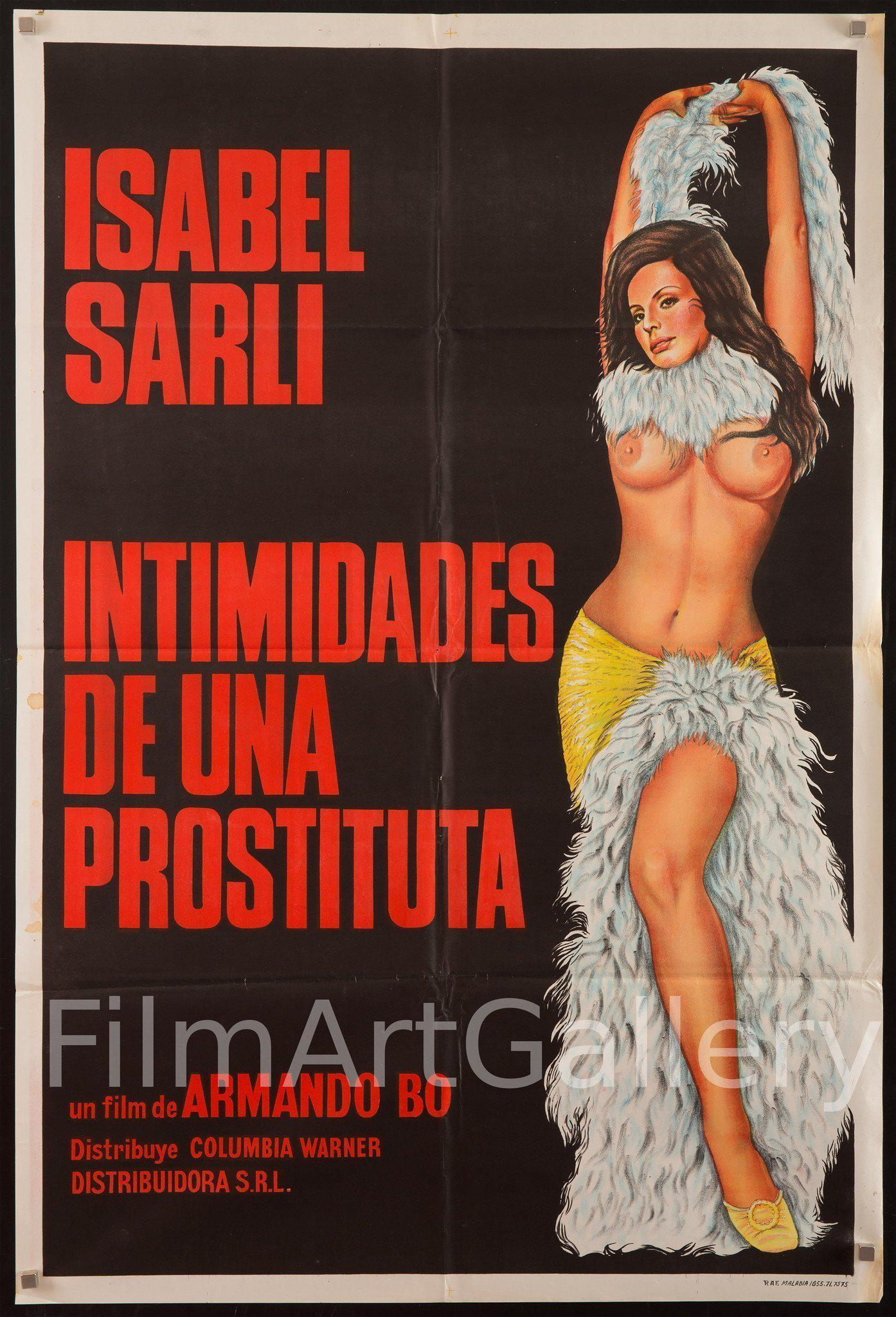 Intimacies of a Prostitute 1 Sheet (27x41) Original Vintage Movie Poster