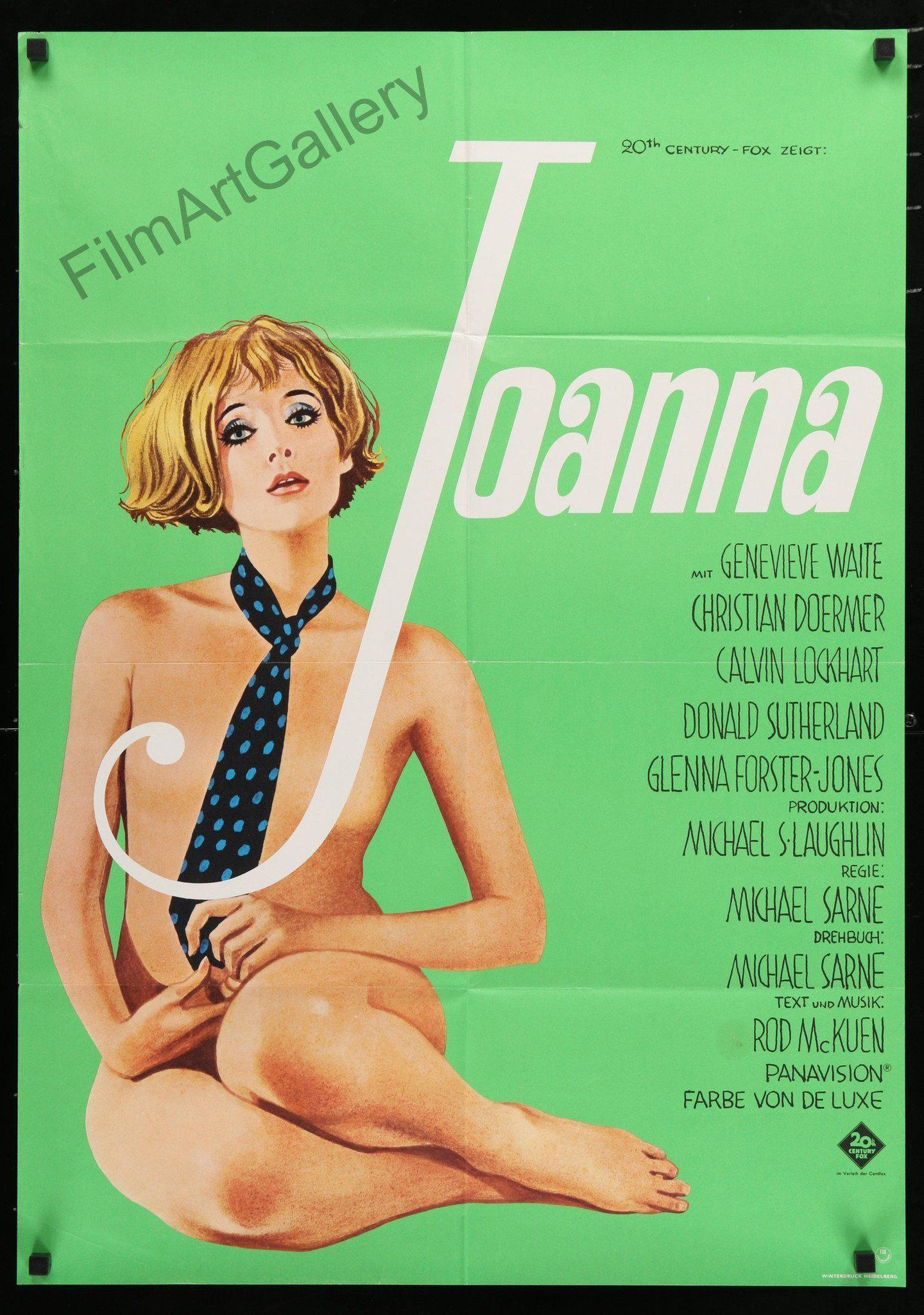 Joanna German A1 (23x33) Original Vintage Movie Poster