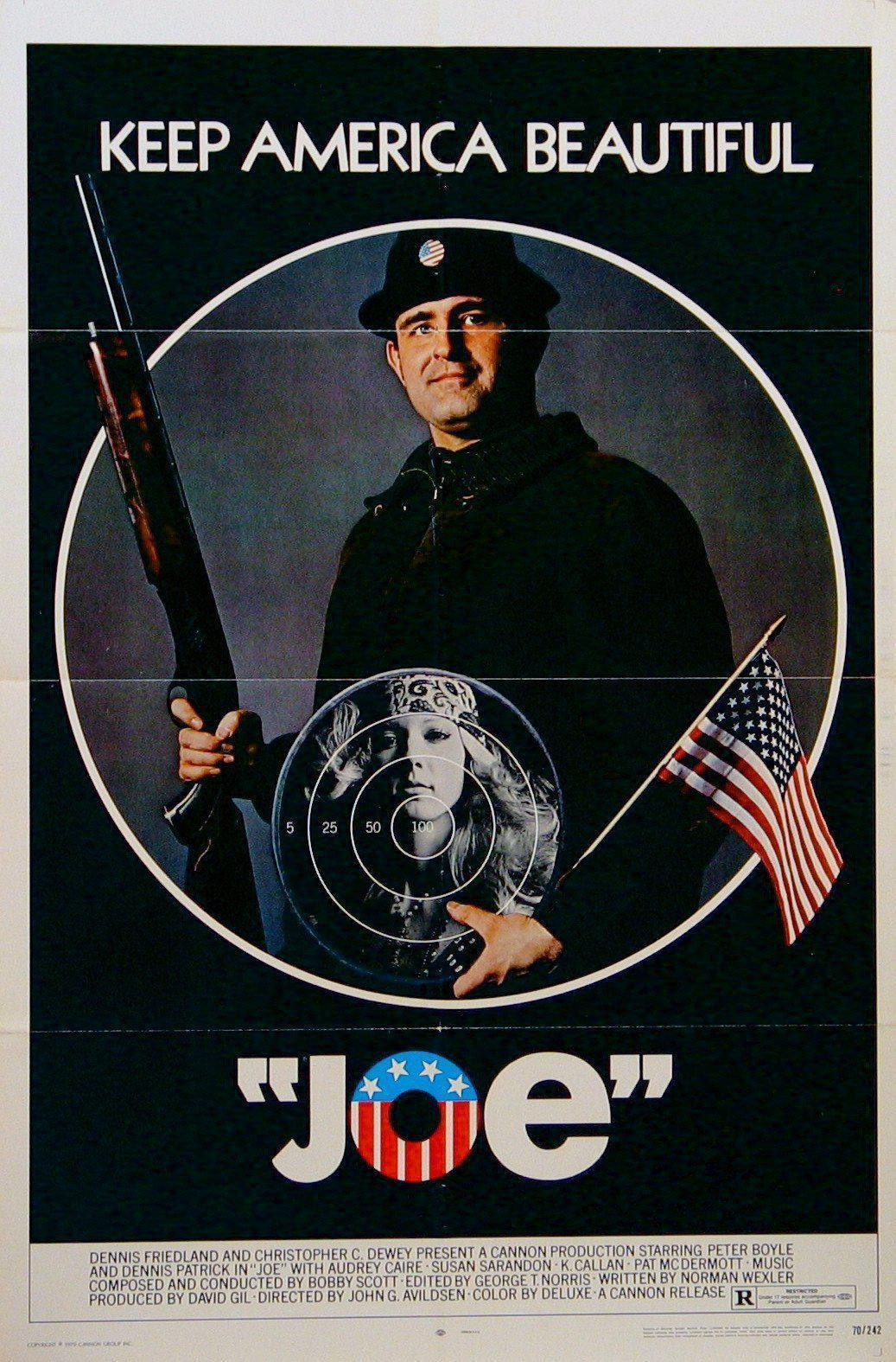 Joe 1 Sheet (27x41) Original Vintage Movie Poster