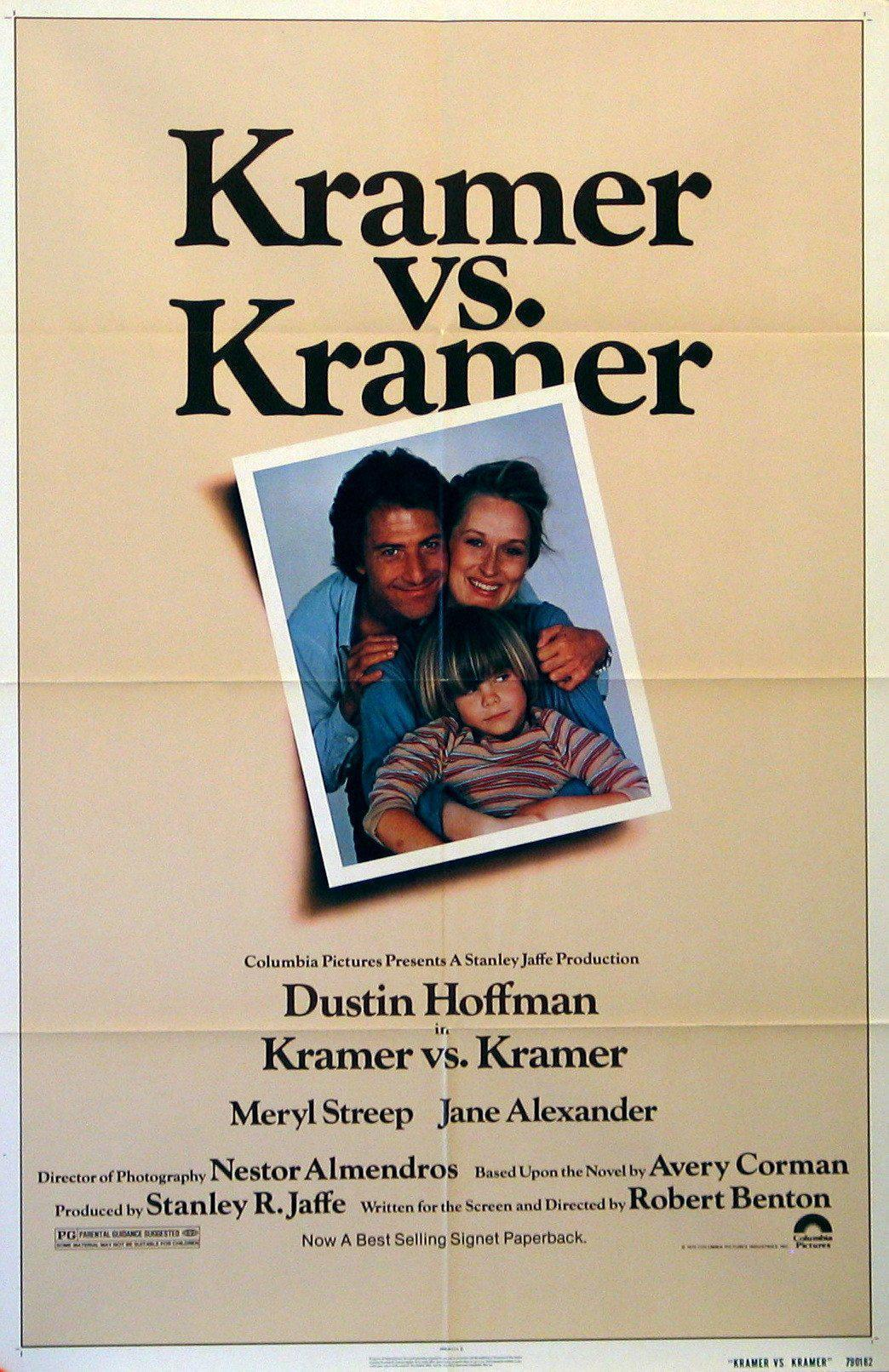Kramer Vs. Kramer 1 Sheet (27x41) Original Vintage Movie Poster