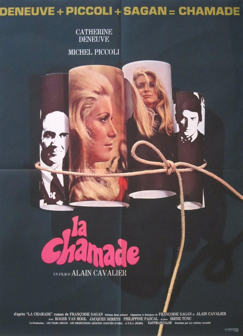 La Chamade French small (23x32) Original Vintage Movie Poster