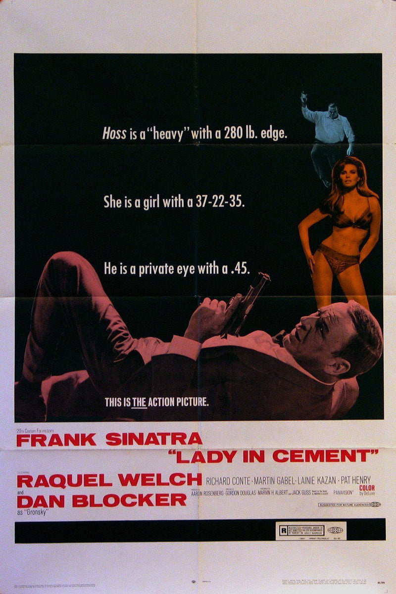 Lady in Cement 1 Sheet (27x41) Original Vintage Movie Poster