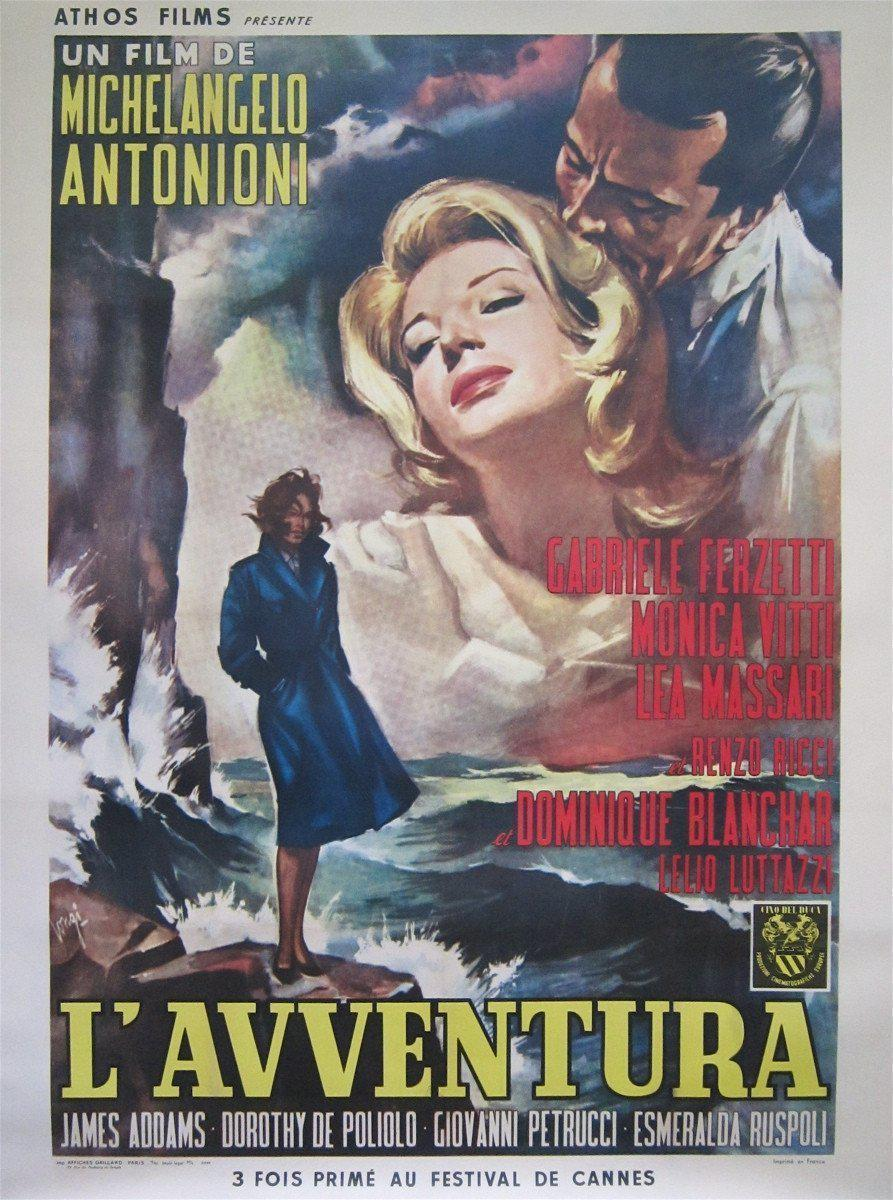 L'Avventura French 1 panel (47x63) Original Vintage Movie Poster
