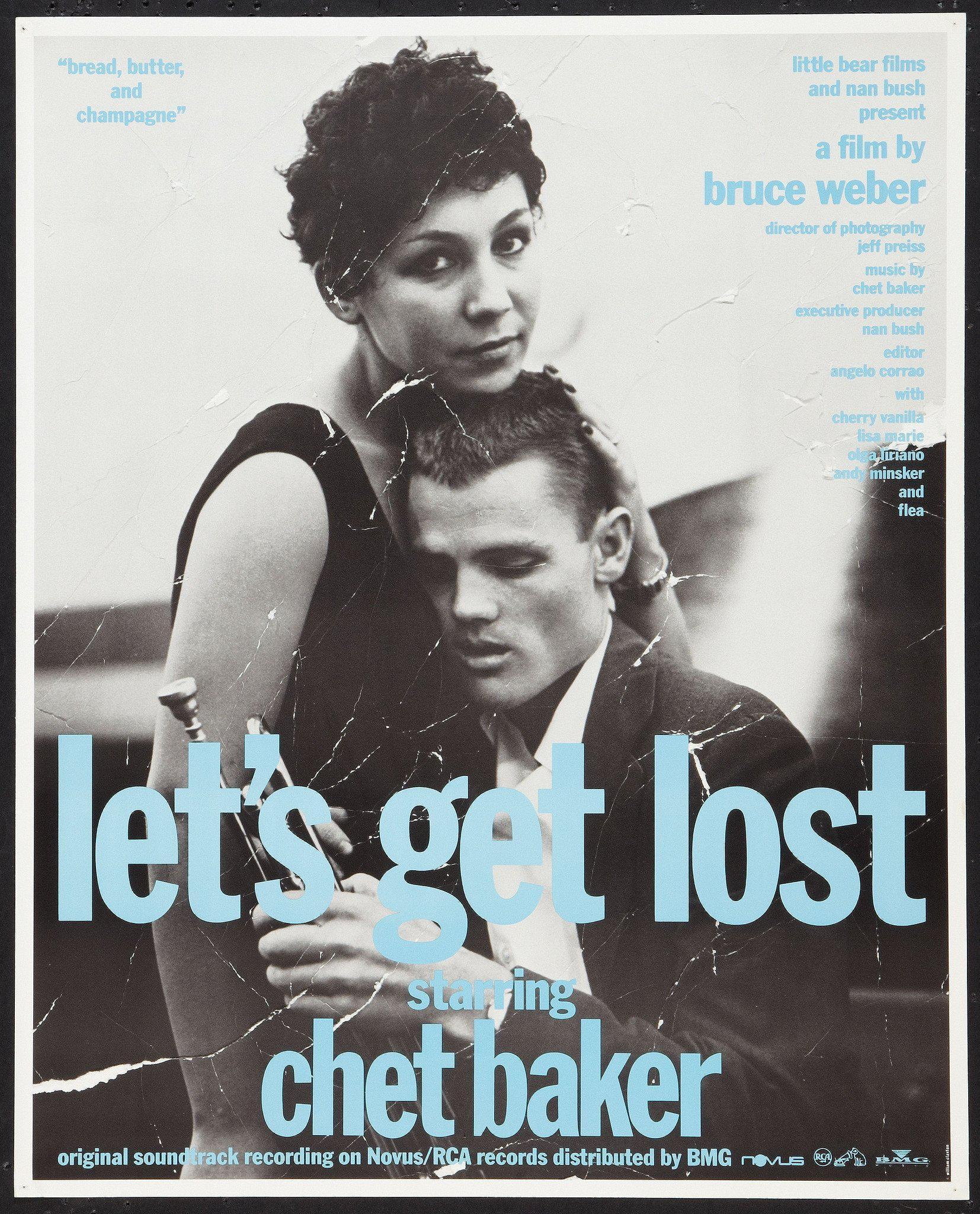Let's Get Lost 17x21 Original Vintage Movie Poster