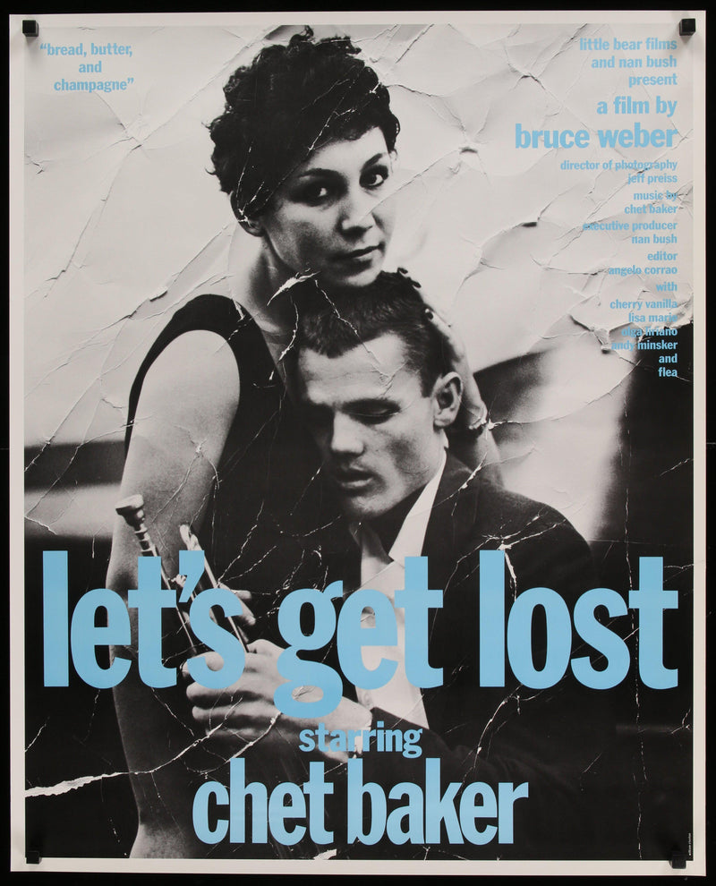 Let's Get Lost 26x33 Original Vintage Movie Poster