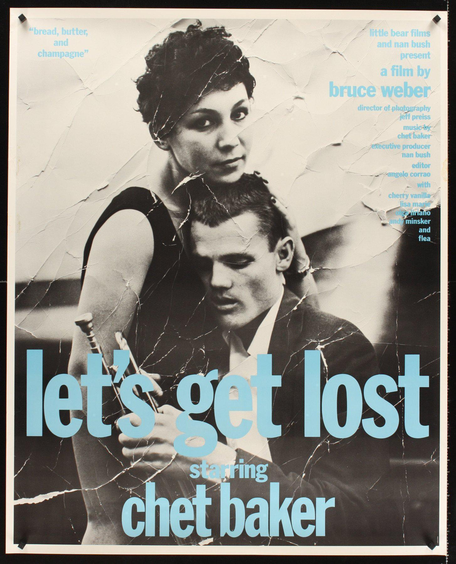 Let's Get Lost 37x46 Original Vintage Movie Poster