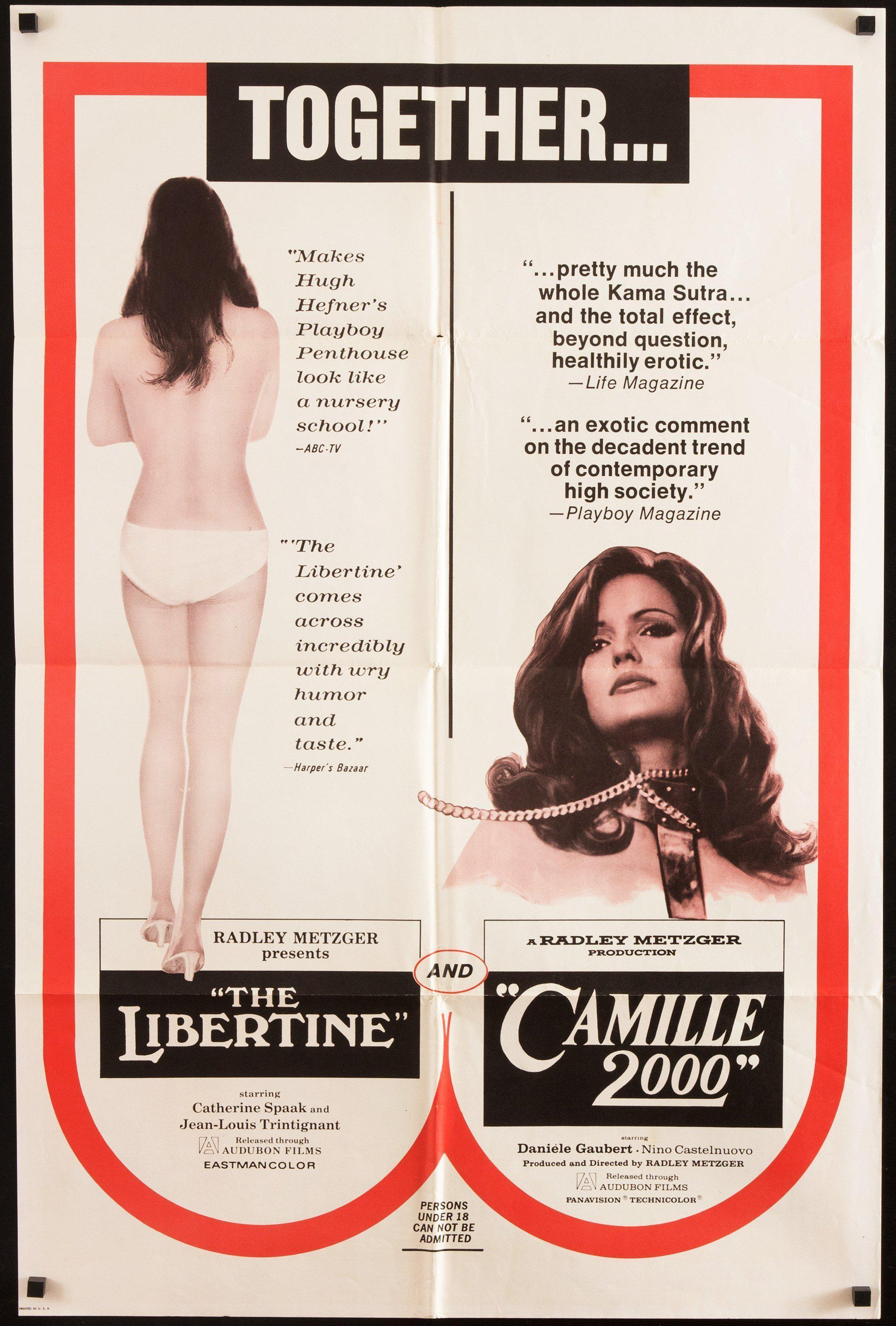 Libertine/Camille 2000 1 Sheet (27x41) Original Vintage Movie Poster